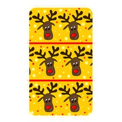 Christmas Reindeer Pattern Memory Card Reader by Valentinaart