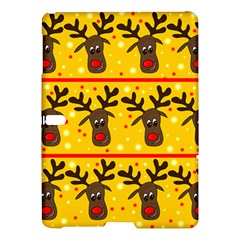 Christmas Reindeer Pattern Samsung Galaxy Tab S (10 5 ) Hardshell Case  by Valentinaart