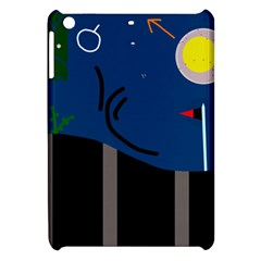 Abstract Night Landscape Apple Ipad Mini Hardshell Case by Valentinaart
