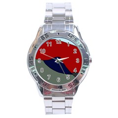 Decorative Design Stainless Steel Analogue Watch