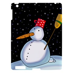 Lonely Snowman Apple Ipad 3/4 Hardshell Case