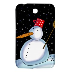 Lonely Snowman Samsung Galaxy Tab 3 (7 ) P3200 Hardshell Case  by Valentinaart