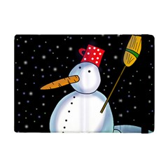 Lonely Snowman Ipad Mini 2 Flip Cases by Valentinaart