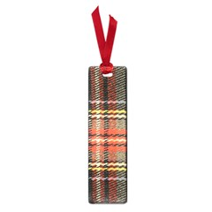 Fabric Texture Tartan Color  Small Book Marks by AnjaniArt