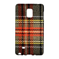 Fabric Texture Tartan Color  Galaxy Note Edge by AnjaniArt