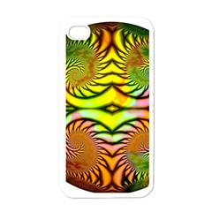 Fractals Ball About Abstract Apple Iphone 4 Case (white)