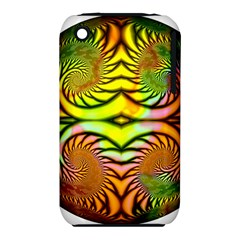 Fractals Ball About Abstract Apple Iphone 3g/3gs Hardshell Case (pc+silicone)