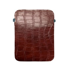 Leather Snake Skin Texture Apple Ipad 2/3/4 Protective Soft Cases by AnjaniArt
