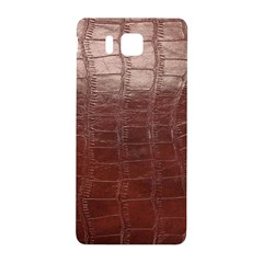 Leather Snake Skin Texture Samsung Galaxy Alpha Hardshell Back Case