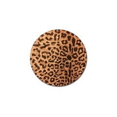 Leopard Print Animal Print Backdrop Golf Ball Marker (4 Pack) by AnjaniArt