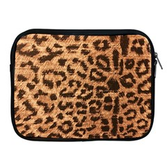 Leopard Print Animal Print Backdrop Apple Ipad 2/3/4 Zipper Cases by AnjaniArt