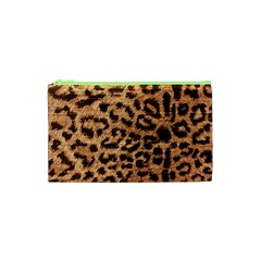 Leopard Print Animal Print Backdrop Cosmetic Bag (xs)