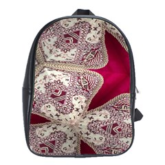 Morocco Motif Pattern Travel School Bags(large)  by AnjaniArt