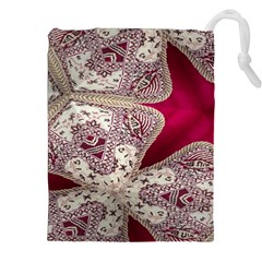 Morocco Motif Pattern Travel Drawstring Pouches (xxl)