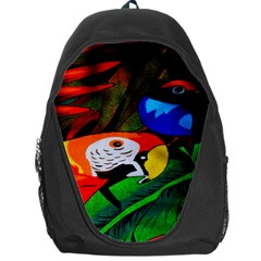 Papgei Red Bird Animal World Towel Backpack Bag