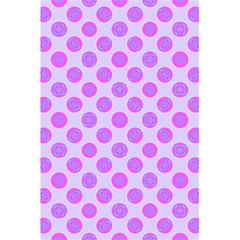 Pastel Pink Mod Circles 5 5  X 8 5  Notebooks by BrightVibesDesign