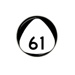 Hawaii Route 61  Hat Clip Ball Marker (4 Pack) by abbeyz71