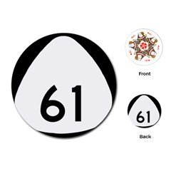 Hawaii Route 61  Playing Cards (round)  by abbeyz71
