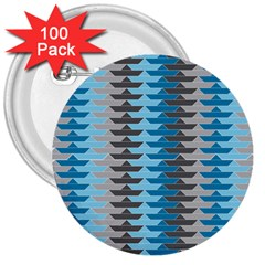 Pattern Boats Background Ship 3  Buttons (100 Pack)