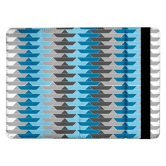Pattern Boats Background Ship Samsung Galaxy Tab Pro 12 2  Flip Case