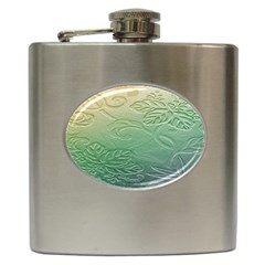 Plants Nature Botanical Botany Hip Flask (6 Oz)