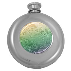 Plants Nature Botanical Botany Round Hip Flask (5 Oz) by AnjaniArt