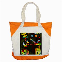 Happy Day 2 Accent Tote Bag by Valentinaart