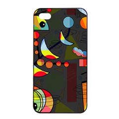 Happy Day 2 Apple Iphone 4/4s Seamless Case (black) by Valentinaart