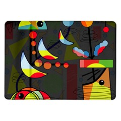 Happy Day 2 Samsung Galaxy Tab 10 1  P7500 Flip Case