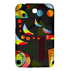 Happy Day 2 Samsung Galaxy Tab 3 (7 ) P3200 Hardshell Case  by Valentinaart