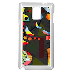Happy Day 2 Samsung Galaxy Note 4 Case (white) by Valentinaart
