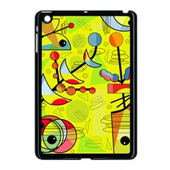 Happy Day   Yellow Apple Ipad Mini Case (black) by Valentinaart