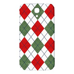 Red Green White Argyle Navy Samsung Galaxy Mega I9200 Hardshell Back Case