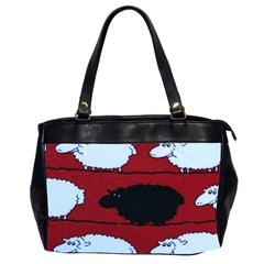 Sheep Pattern Office Handbags (2 Sides)