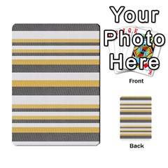 Textile Design Knit Tan White Multi Purpose Cards (rectangle)