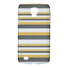 Textile Design Knit Tan White Galaxy S4 Active by AnjaniArt