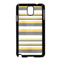 Textile Design Knit Tan White Samsung Galaxy Note 3 Neo Hardshell Case (black)