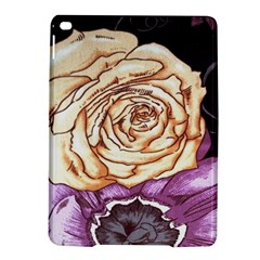 Texture Flower Pattern Fabric Design Ipad Air 2 Hardshell Cases by AnjaniArt