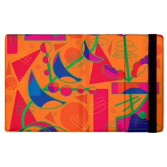 Happy Day   Orange Apple Ipad 2 Flip Case by Valentinaart