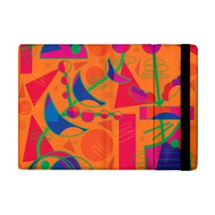 Happy Day   Orange Ipad Mini 2 Flip Cases by Valentinaart