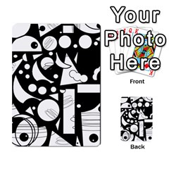 Happy Day   Black And White Multi Purpose Cards (rectangle)
