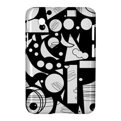 Happy Day   Black And White Samsung Galaxy Tab 2 (7 ) P3100 Hardshell Case  by Valentinaart