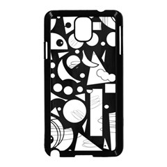 Happy Day   Black And White Samsung Galaxy Note 3 Neo Hardshell Case (black)