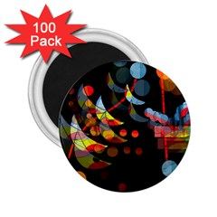 Magical Night  2 25  Magnets (100 Pack)  by Valentinaart
