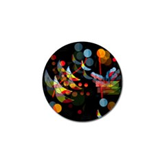 Magical Night  Golf Ball Marker (4 Pack) by Valentinaart