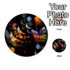 Magical Night  Multi Purpose Cards (round)