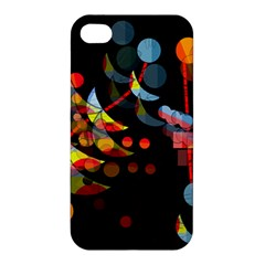 Magical Night  Apple Iphone 4/4s Hardshell Case by Valentinaart