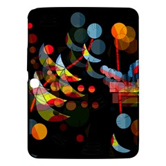 Magical Night  Samsung Galaxy Tab 3 (10 1 ) P5200 Hardshell Case  by Valentinaart