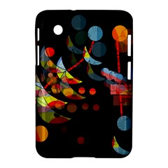 Magical Night  Samsung Galaxy Tab 2 (7 ) P3100 Hardshell Case  by Valentinaart