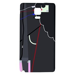 Plug In Galaxy Note 4 Back Case